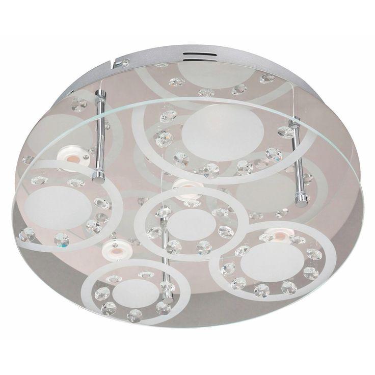 Wofi LED-Deckenleuchte Lore EEK: A+ Jetzt bestellen unter: https://moebel.ladendirekt.de/lampen/deckenleuchten/deckenlampen/?uid=9c16264c-6281-5b5f-a850-249a944e873e&utm_source=pinterest&utm_medium=pin&utm_campaign=boards #deckenleuchten #lampen #wohnen>lampen #deckenlampen #leuchten>ledbeleuchtung>leddeckenleuchten Bild Quelle: obi.de