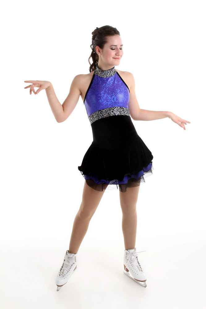 NEW COMPETITION SKATING DRESS Elite Xpression1551 MADE ORDER 3 WEEKS FABRICATION