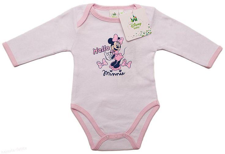Hello, Minnie! Compleu roz pentru cel mai mic membru al familiei! Pret: 21.00 lei http://hainute-fetite.ro/produs/body-hello-minniealb-roz/