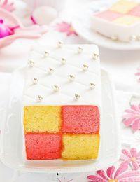 Battenberg Kuchen Bild 2