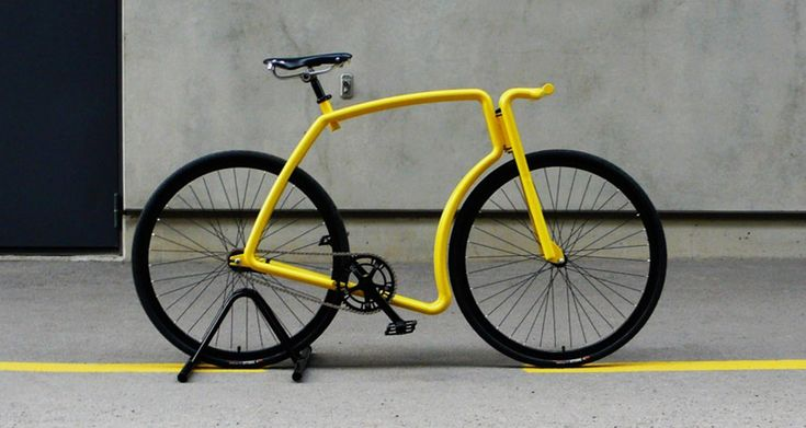 Viks is an urban steel bicycle by Indrek Narusk of Velonia incorporating two stainless steel tubes to form its sleek, simple frame. It's definitely eye-catching and assuredly unique, playing off the cafe lifestyle of using vintage bicycles for transport through the city streets.