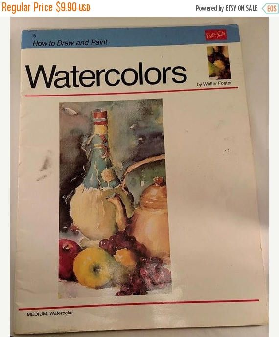 On sale How to Draw and Paint: Watercolors by Walter Foster