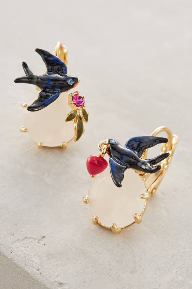 Anthropologie's New Arrivals: Les Nereides Earrings - Topista