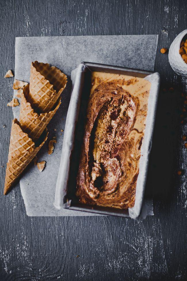 Chocolate Cake Butterscotch Ice Cream