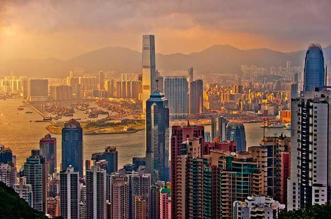 Hong Kong sunset; photo: Mike Behnken – Flickr