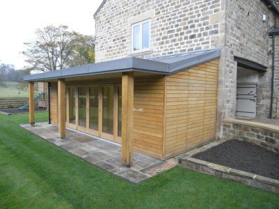 17 best images about small house extention on pinterest for Wooden garden rooms extensions