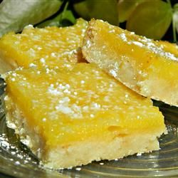 Chef John's Lemon Bars- These were so good. I made them with King Arthur's GF flour & then ate way too many of them!