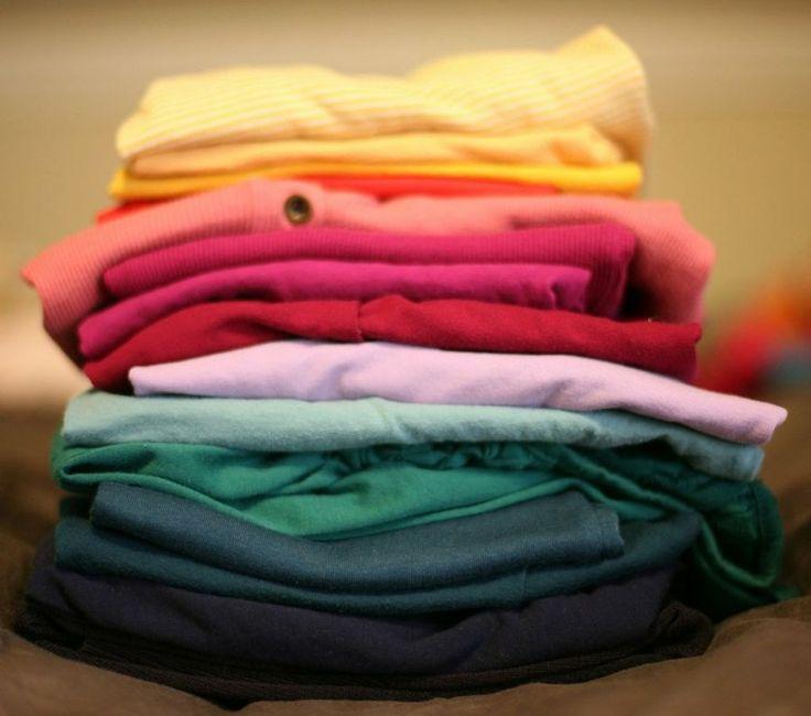 Máquina casera para doblar camisetas