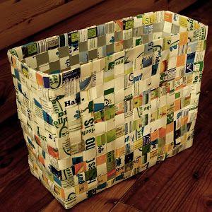 Hallo ihr Lieben!     Endlich kommt die DIY-Anleitung für eine große Tasche aus Tetrapacks.   Ich weiß nicht mehr wie lange ich für dieses ...