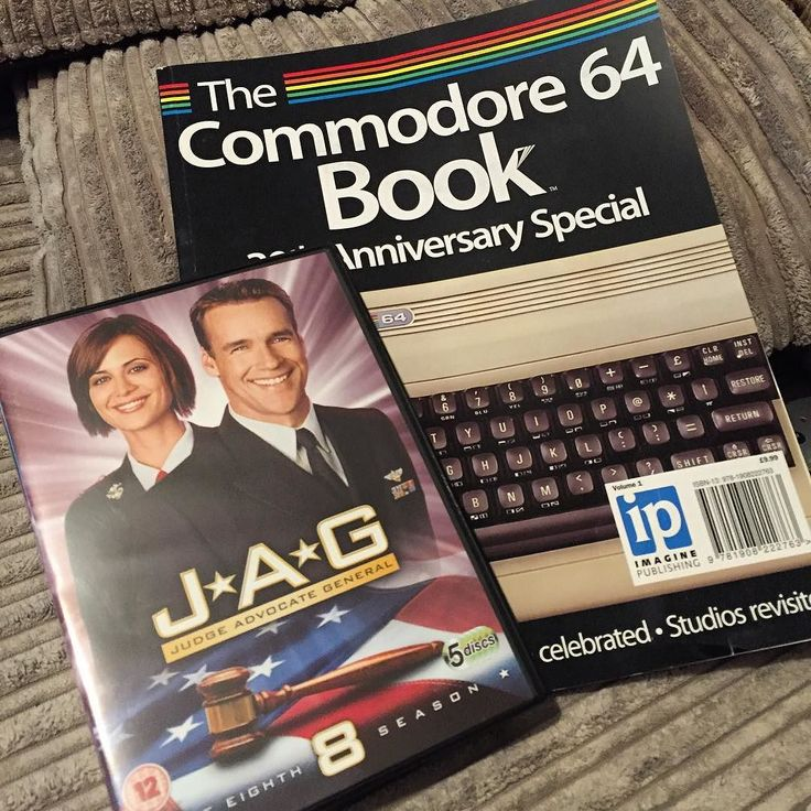 On instagram by philedboyce #c64 #microhobbit (o) http://ift.tt/28Nwmqp my. My Sunday is shaping up well tomorrow! #jag #ncis  #commodore64