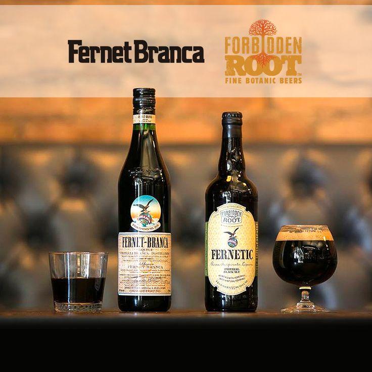 Fernet-Branca has teamed up with Forbidden Root on a limited-release black ale #beer #craftbeer #party #beerporn #instabeer #beerstagram #beergeek #beergasm #drinklocal #beertography