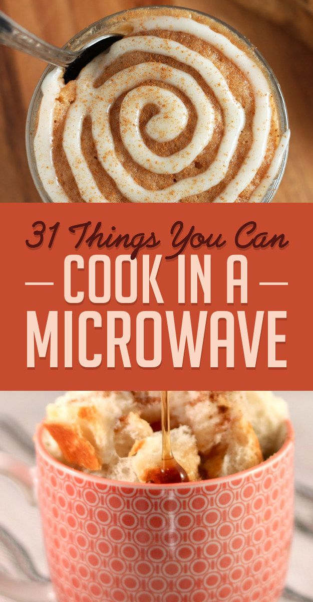 31 Things You Didn't Know You Could Cook In A Microwave