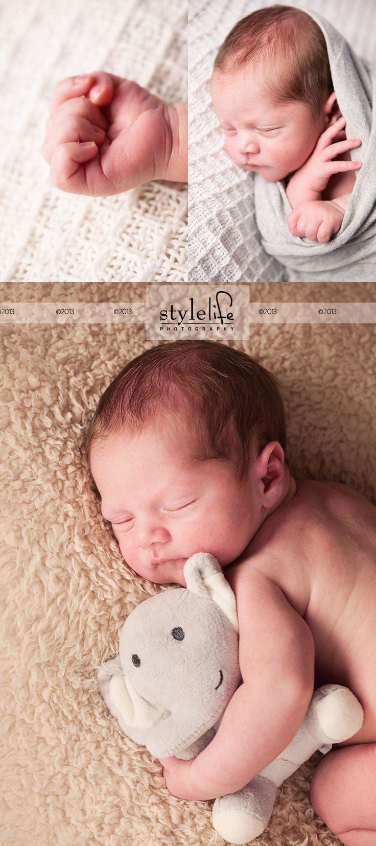 Deion - Newborn Photography | Style Life Photography