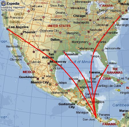 Best Costa Rica Images On Pinterest Travel Central America - Us map of costa rica