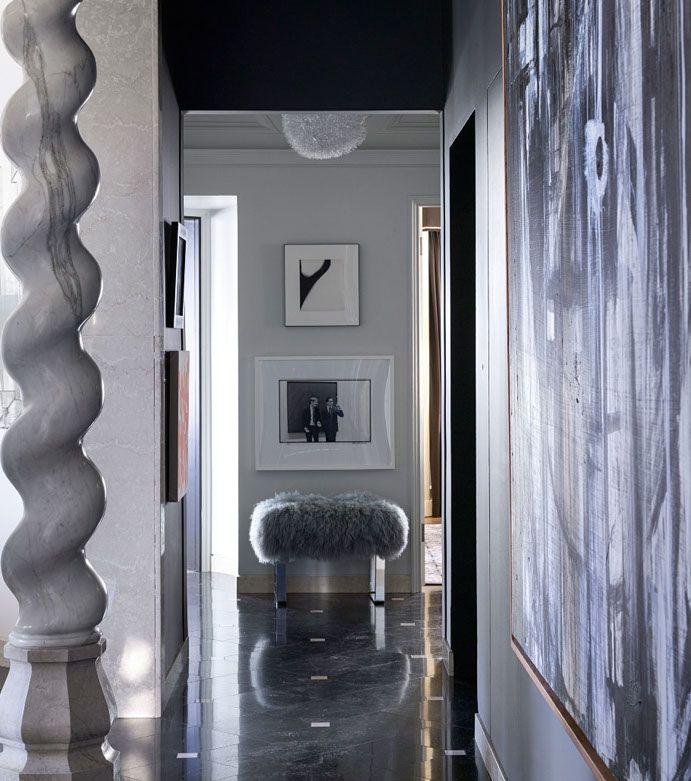 Исследование & Прихожая - Эрик Cohler Дизайн - Нью-Йорк, Палм-Бич, Сан-Франциско