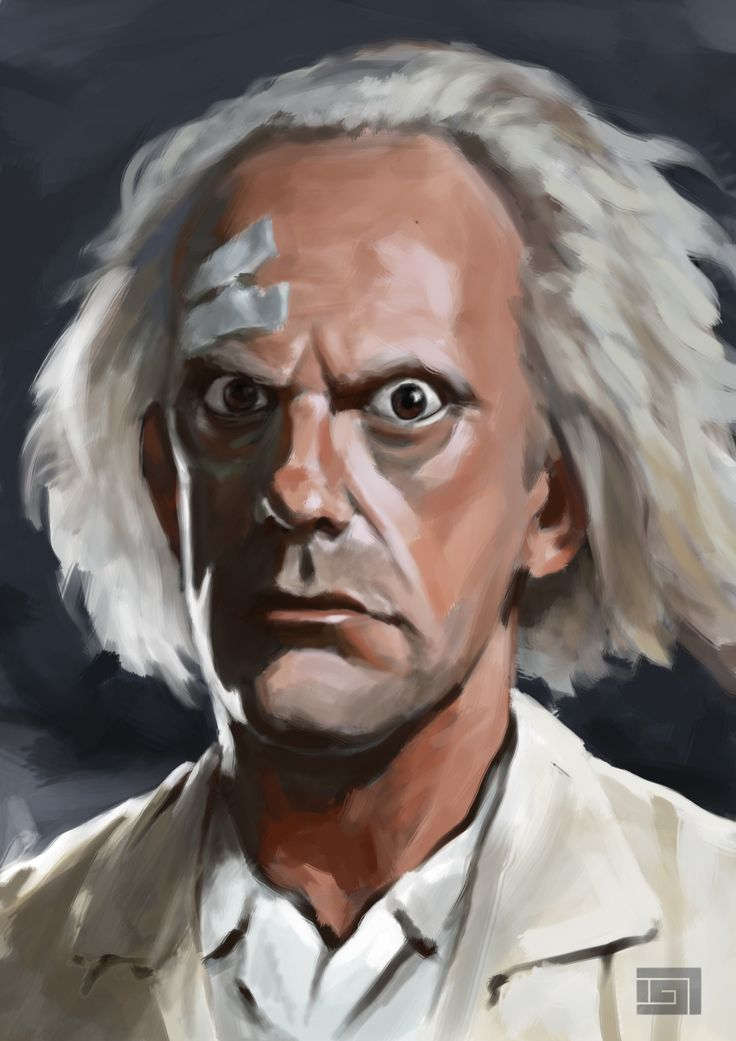Christopher Lloyd ~ Played Dr. Emmett Brown in the movie BACK TO THE FUTURE.