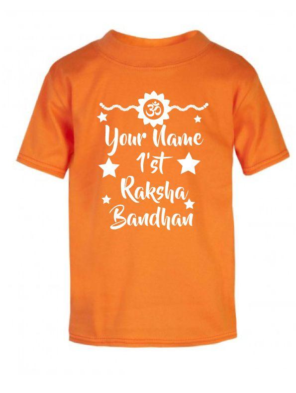 My Baby ID - Personalised T-shirt With My 1st Raksha Bandhan Design, £11.99 (http://mybabyid.co.uk/personalised-t-shirt-with-my-1st-raksha-bandhan-design/)