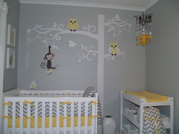 All ready for our Little One - Grey and Yellow Nursery (Pic Heavy) :  wedding P1012306