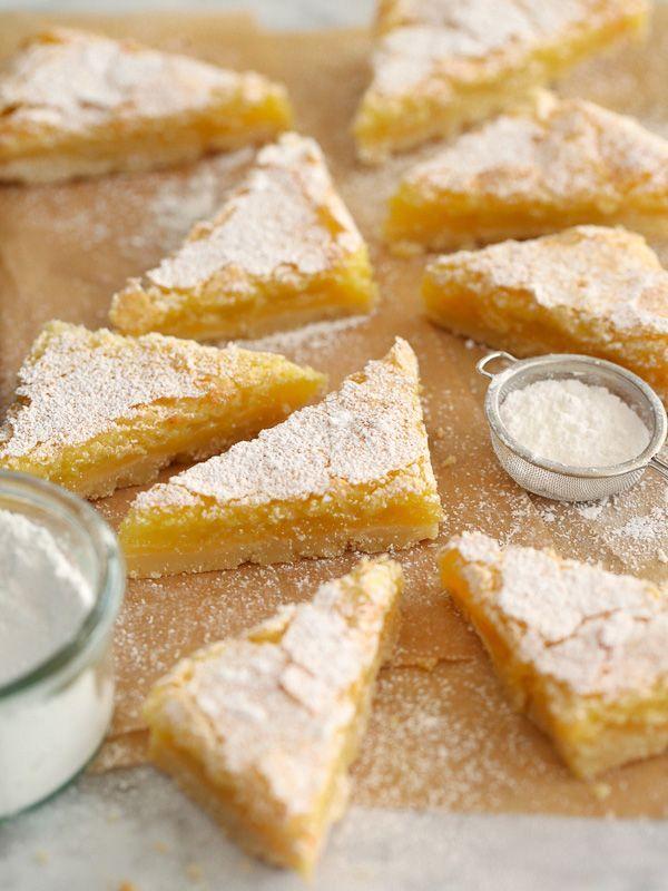 Meyer Lemon Bars is my favorite citrus treat that's oh so sweet!
