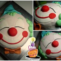 Gâteau Clown cake