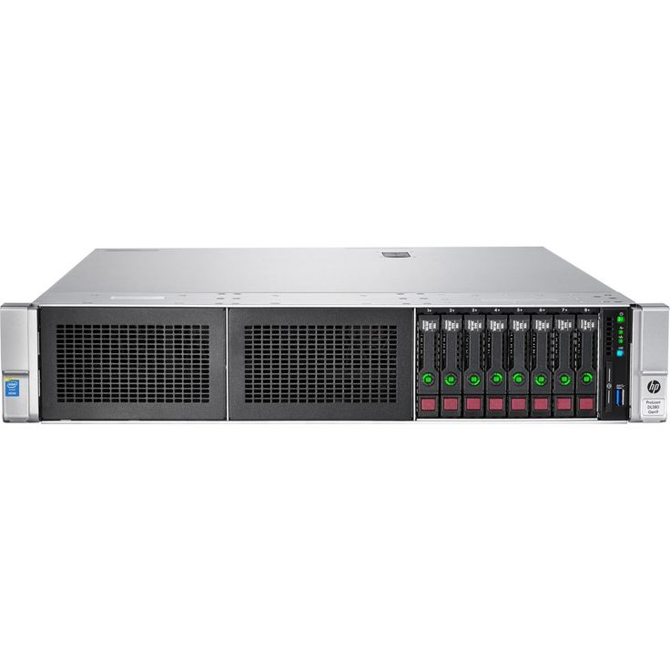 HP ProLiant DL380 G9 2U Rack Server - 1 x Intel Xeon E5-2620 v3 Hexa-core (6 Core) 2.40 GHz - 16 GB Installed DDR4 SDRAM - 12Gb/s SAS Controller - 1 x 500 W - 2 Processor Support - Gigabit Ethernet - Matrox G200eH2 16 MB Graphic Card - Hexa-core (6 Core)
