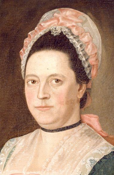 1773-1785_Portrait of Hannah (Choate) Lathrop_detail