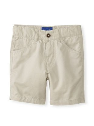 29% OFF Beetle & Thread Kid's Twill Shorts (Beige/Khaki)