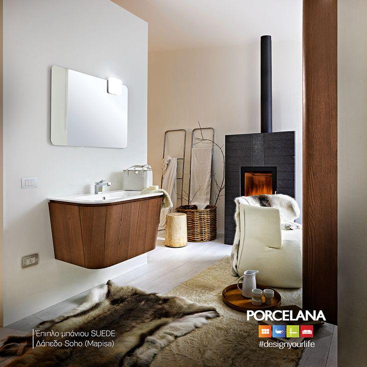 Για ένα ατμοσφαιρικό μπάνιο, που θυμίζει ζεστό χειμωνιάτικο σκηνικό, συνδυάστε τα #contemporary έπιπλα υψηλής αισθητικής «Suede» με το #minimal δάπεδο «Soho»! Οι χειμερινές #εκπτώσεις συνεχίζονται δυναμικά #WinterSale @ Porcelana #upto70% #Favorite pieces @ Favorite #Prices