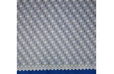 Manchester Cream Net Curtain Geometric design