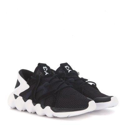 Laterale Sneaker Y-3 Kyujo Low in rete nera