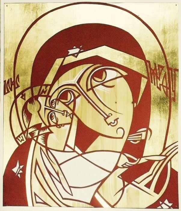 Theotokos - Contemporary icon