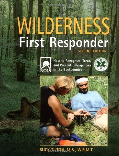 Wilderness First Responder, 2nd: How to Recognize, Treat, and Prevent Emergencies in the Backcountry (Wilderness First Responder: How to Recognize, Treat, &) by Buck Tilton, http://www.amazon.com/dp/0762728019/ref=cm_sw_r_pi_dp_xfrUrb11A9FM9