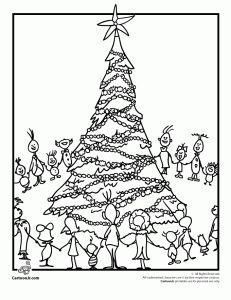 The Grinch's Whoville Coloring Page