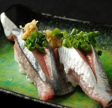 鯖寿司。Sabazushi.