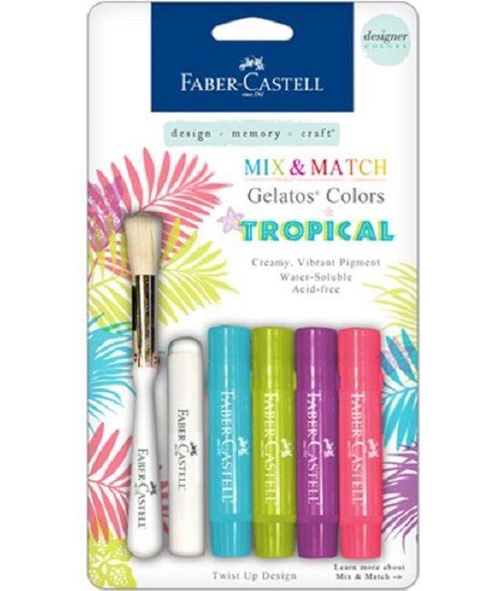 Faber Castell Gelatos - Pigment Sticks - Tropical 4 st.€14,95