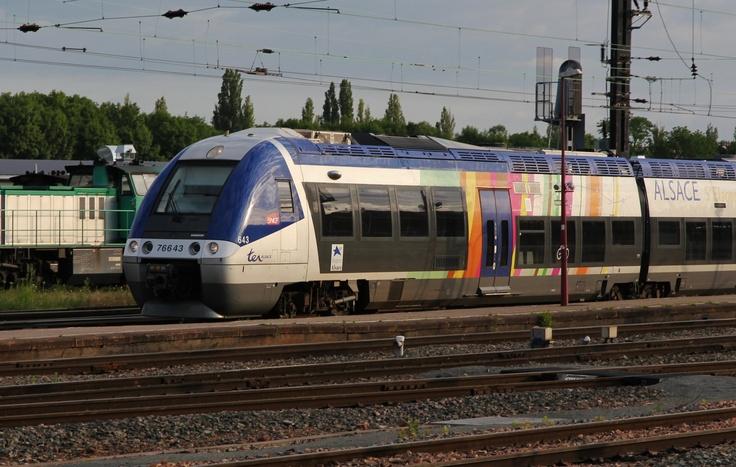 Modèle Bombardier X 76500 TER Alsace