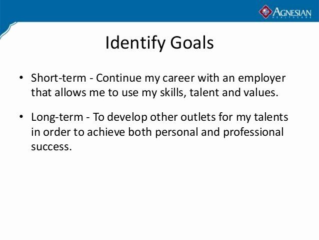 Professional Mission Statement Fresh A Personal In Career Goal Unique Short Statements