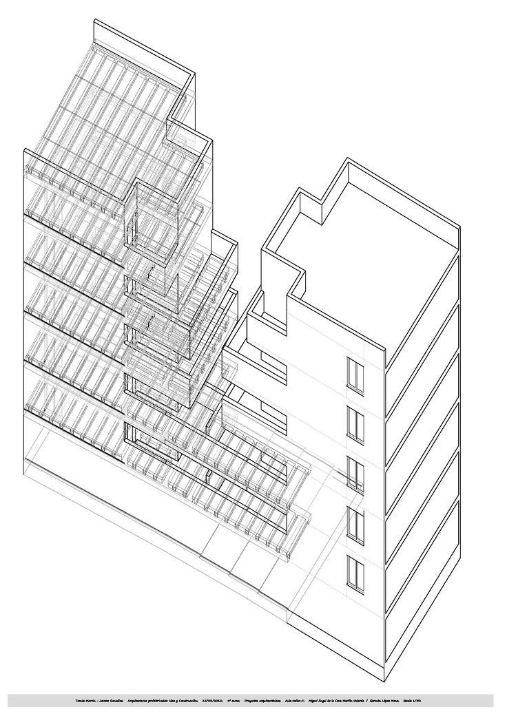 Habitatges socials Alcobendas. Manuel de las Casas. 1993-1995