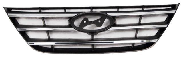2009-2010 Hyundai Sonata Grille Chrome
