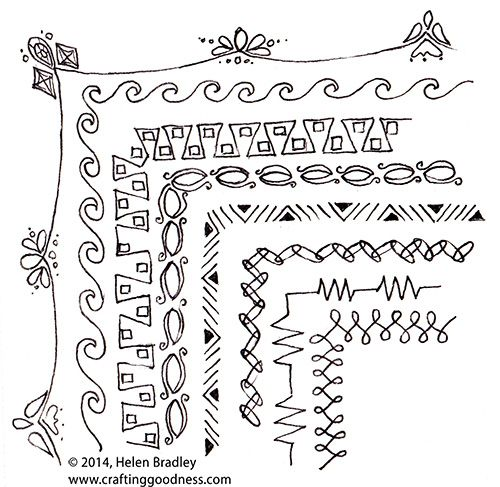25 Best Ideas About Doodle Borders On Pinterest Bible Bullet Journaling Doodle And Tattoo