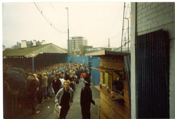 The shed Chelsea FC