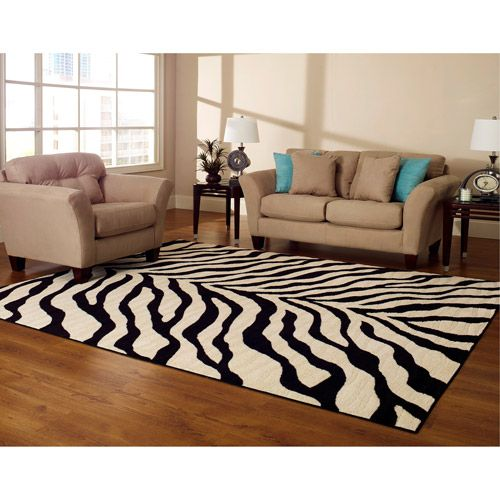 Really Like This Zebra Rug--only $44 At Wal Mart!