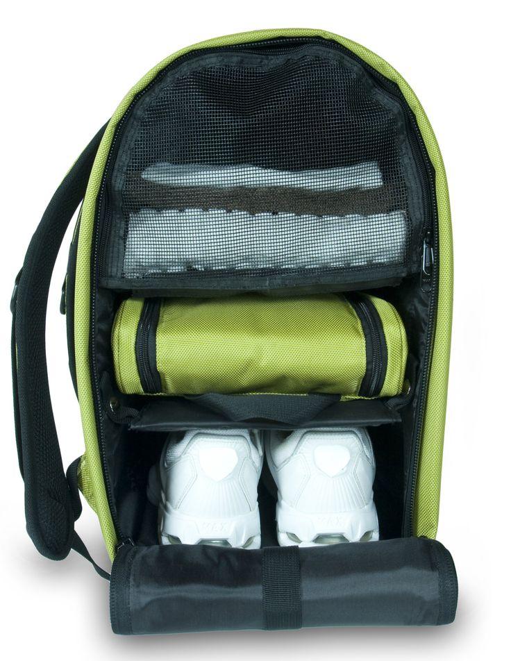Glo Bag: Ladies Gym Locker Organizer Bag in Lime Green | The Glo Bag