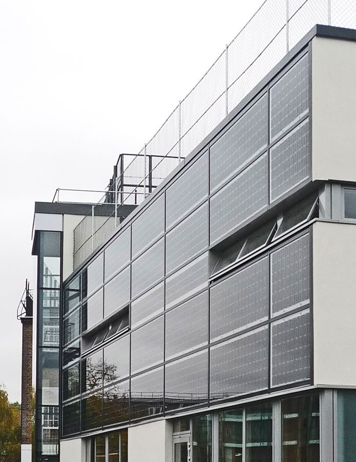 Technology Management Image: Ertex Solar's Building Integrated Photovoltaics At Hanover