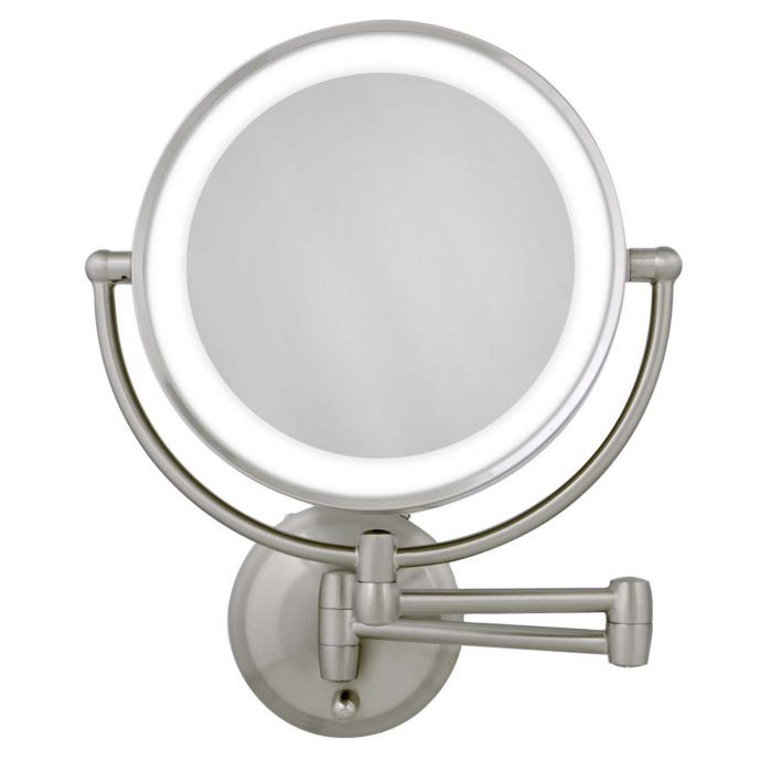 View A Larger Version Of This Product Image Makeup Mirror With Lights Wall Mounted Mirror Wall Mounted Makeup Mirror