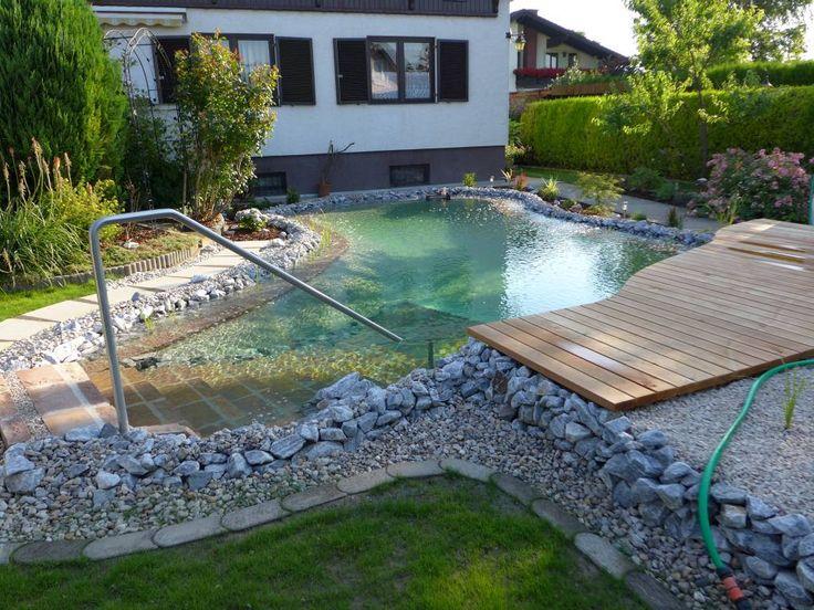 Schwimmteich Basic - Gartengestaltung Zangl Garten Pinterest - gartengestaltung reihenhaus pool