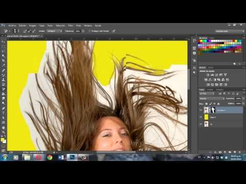 TUTORIAL RECORTE DE CABELLO PERFECTO PHOTOSHOP CC - YouTube