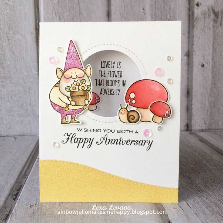 7 Best Mft You Gnome Me Images On Pinterest Cards Diy Cards And