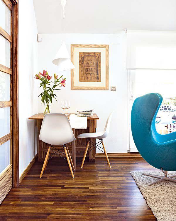 17 mejores ideas sobre mesas de comedor plegables en - Mesa plegable pared ...