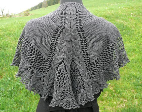 Balade Galloise avec un petit châle - Tricote pas tout!
